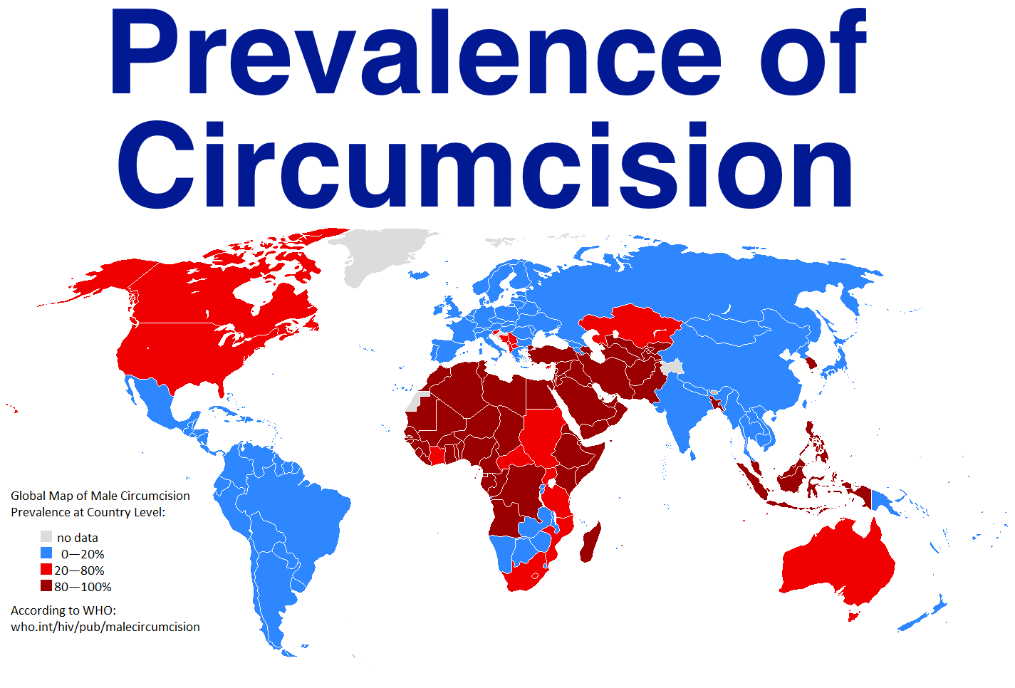 worldwide prevalence of circumcision wait but why