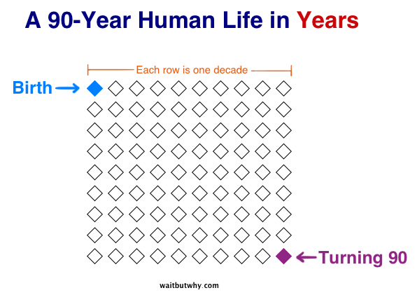 A Human Life in Years