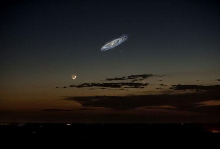 If Andromeda Were Brighter