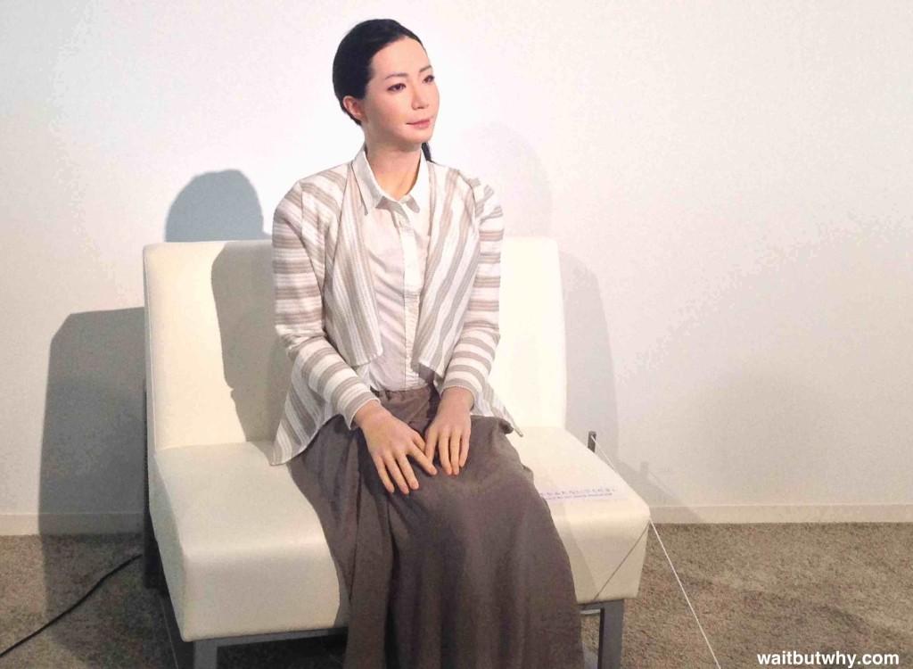 Japanese Robot Woman