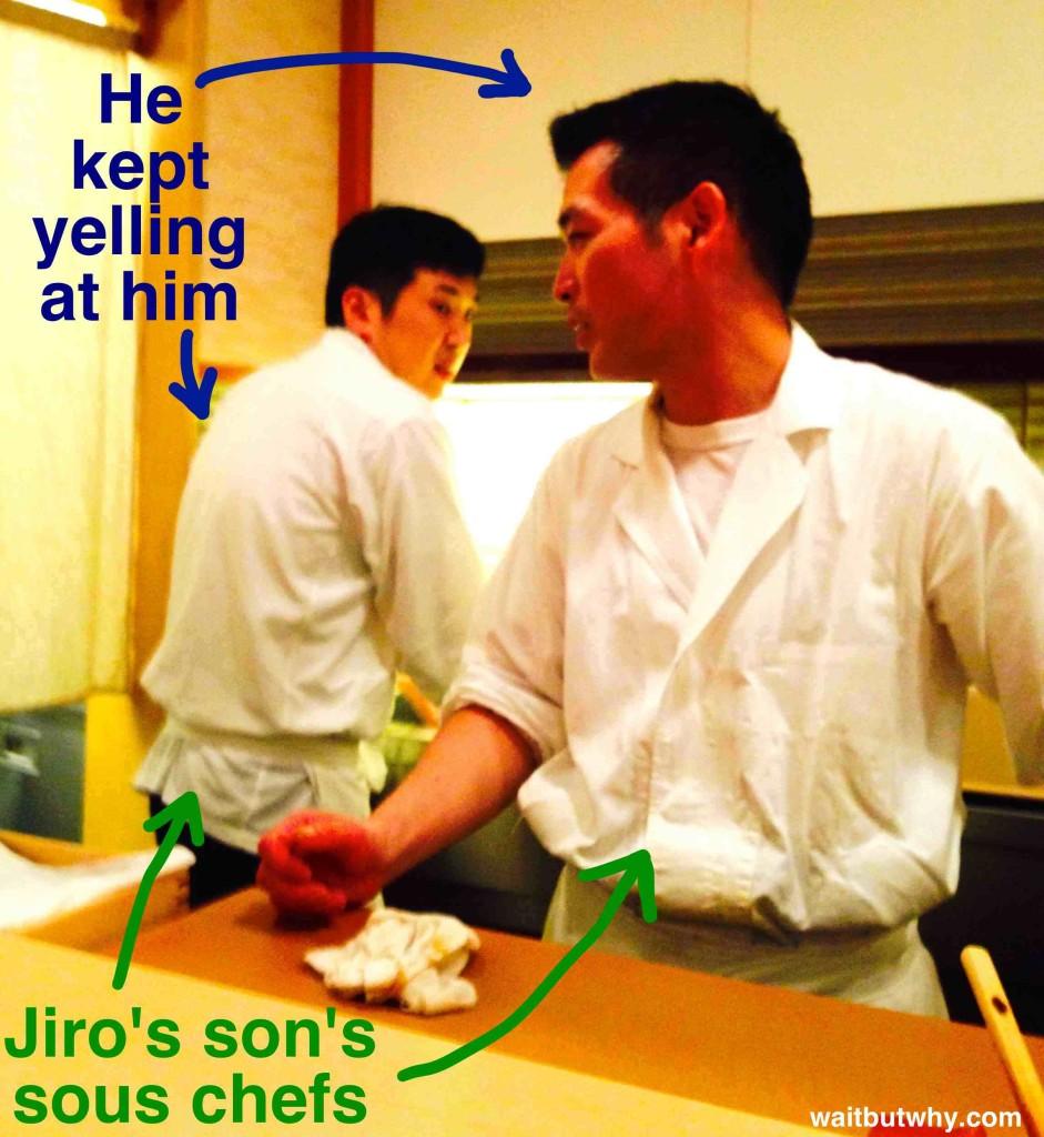 Jiro's Son's Sous Chefs