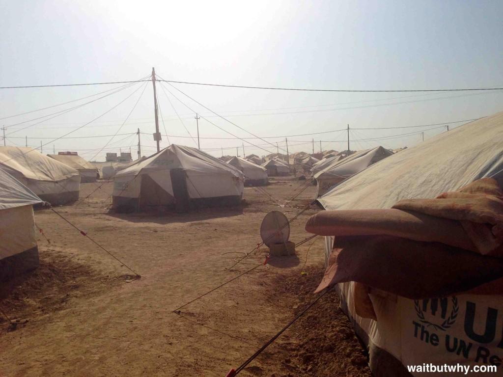 Refugee Camp Tents