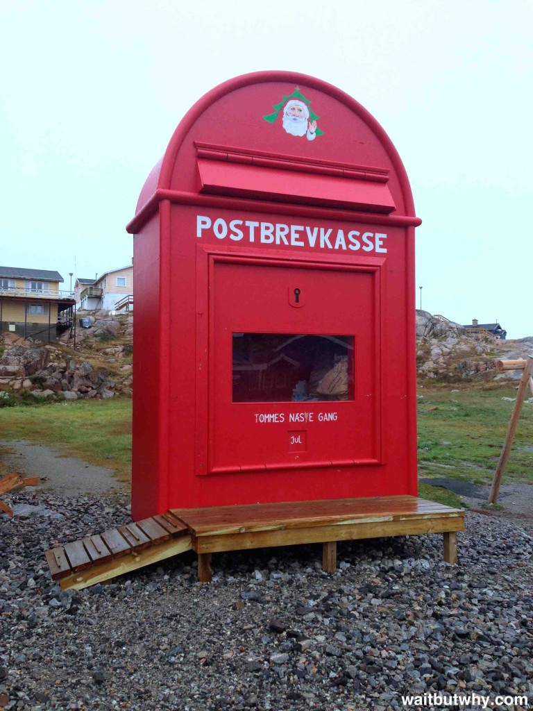 Santa Mailbox Ilulissat