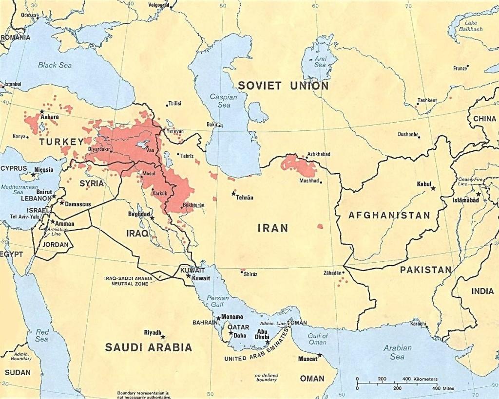 Kurdistan Cut Apart