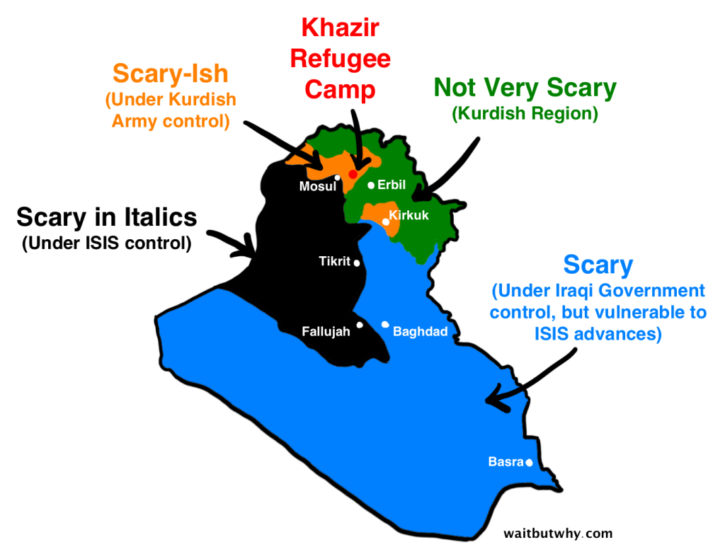 Scary Map