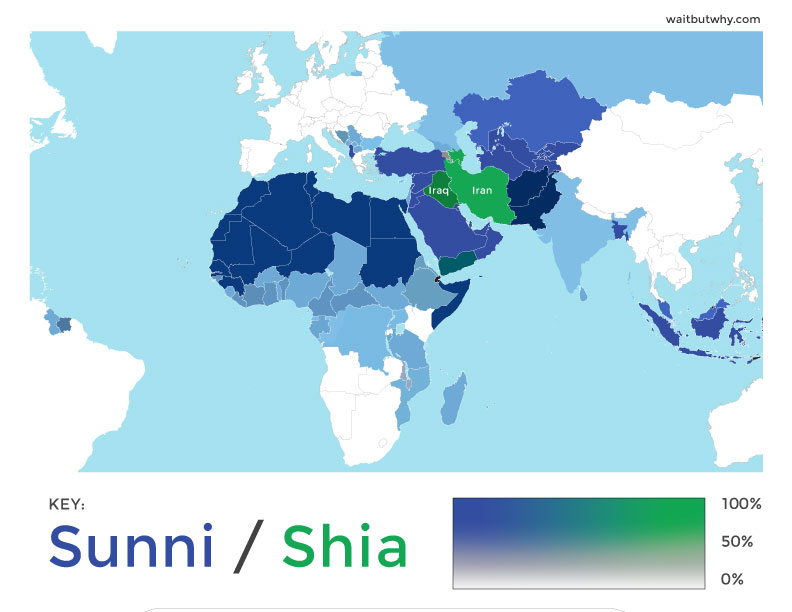 why did sunni shia split essay Includes a historical background of the sunni-shiite split and discusses the   the differences between the sunni and shiite islamic sects are rooted in.
