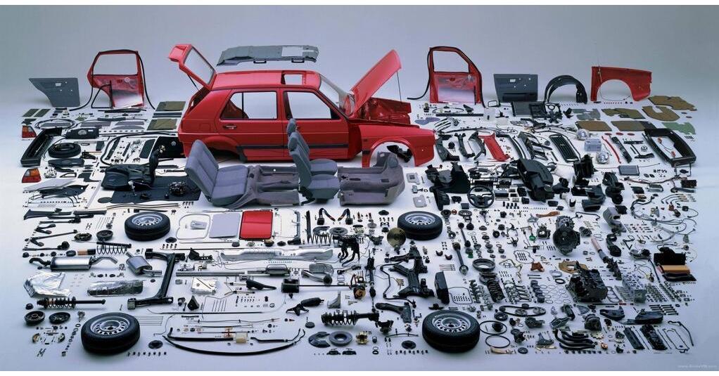 Disassembled Volkswagen