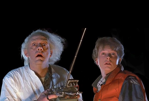 doc and marty back to the future