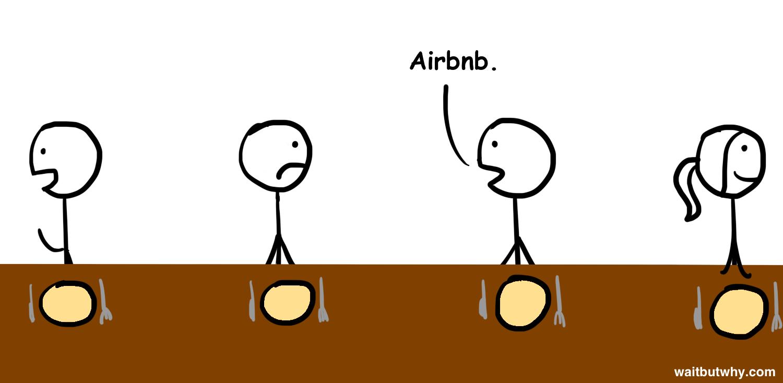 Joe: Airbnb.