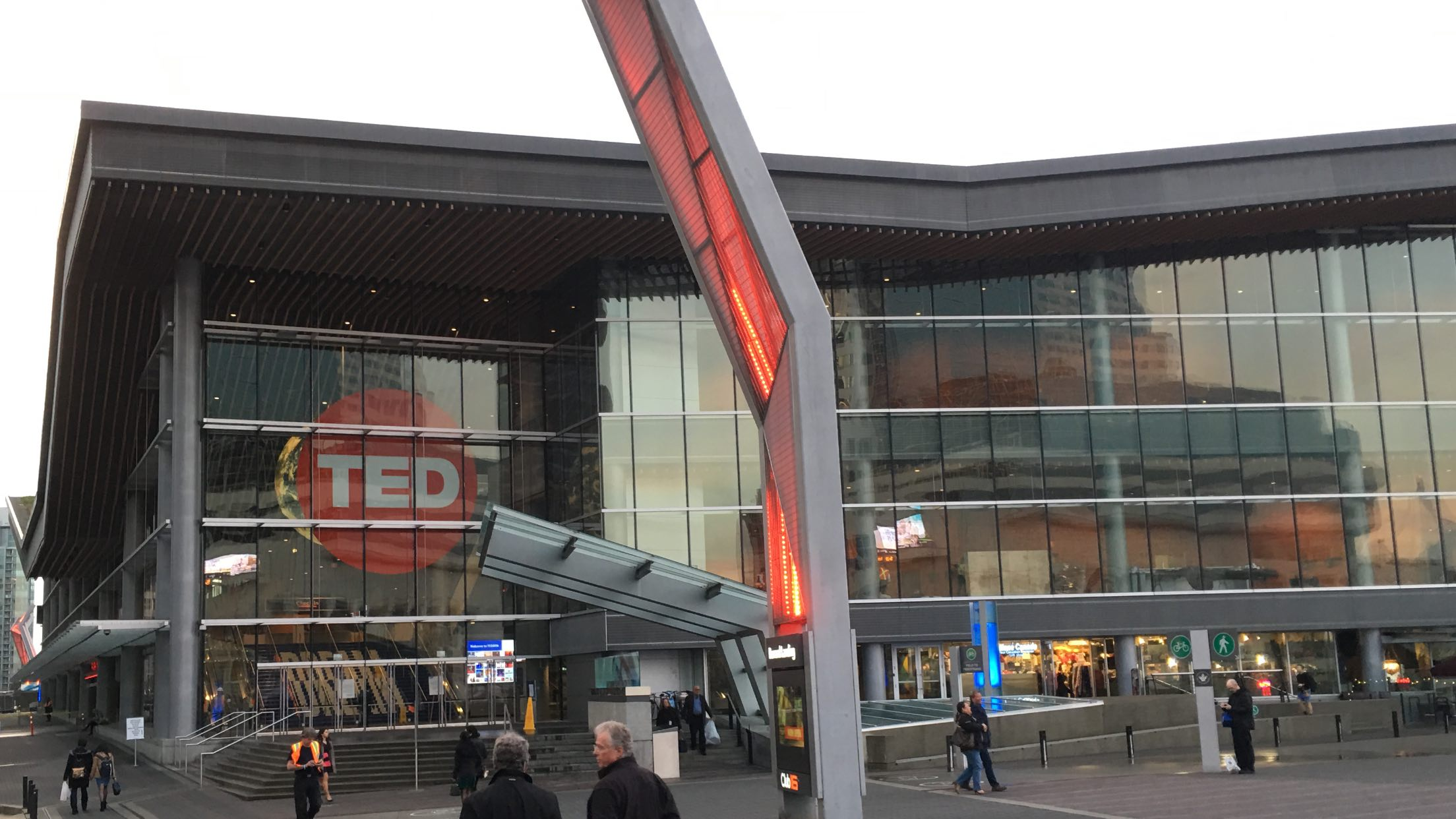 photo of TED2016 conference center