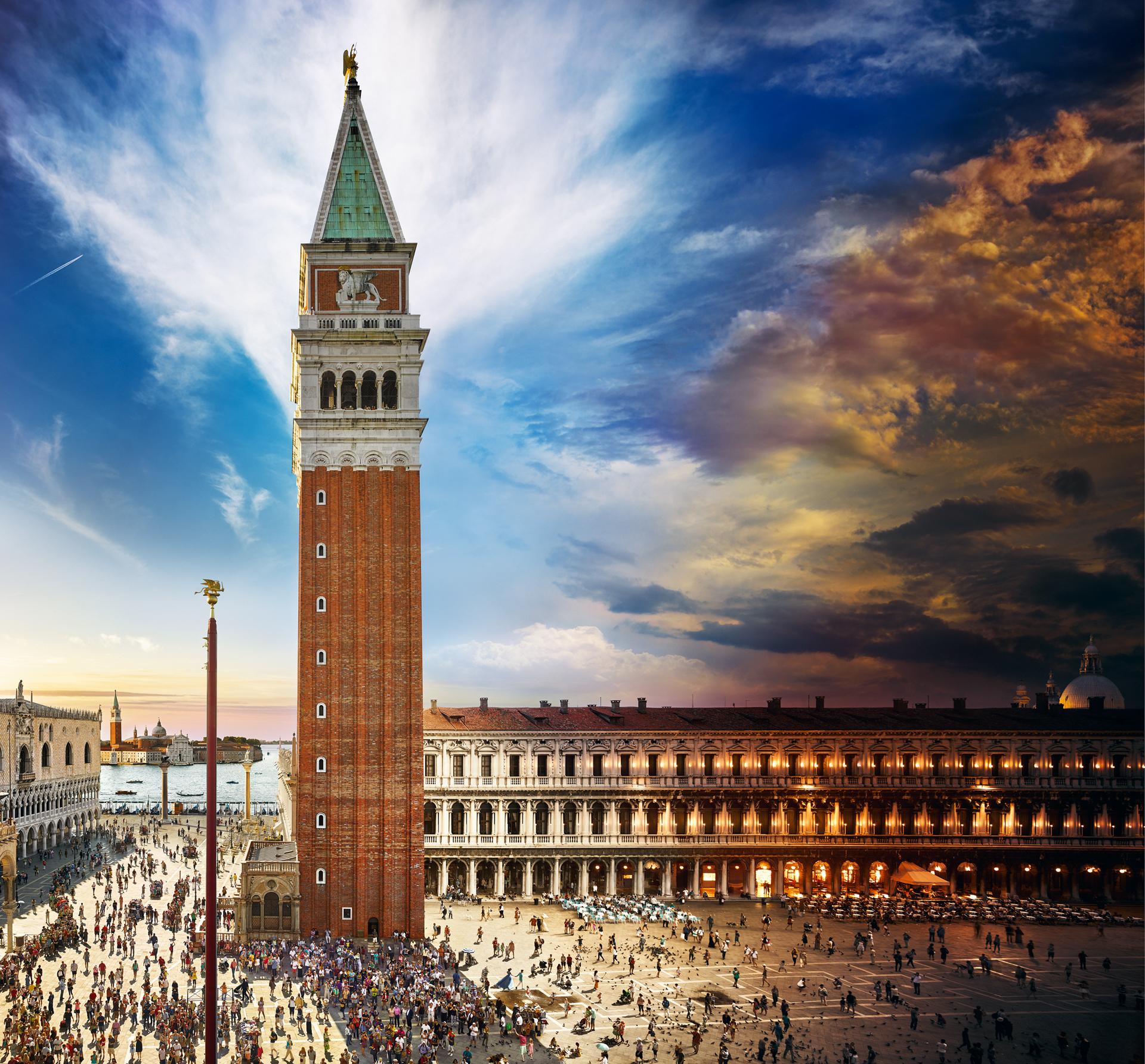 Campanile di San Marco, Venice, Day to Night 2016