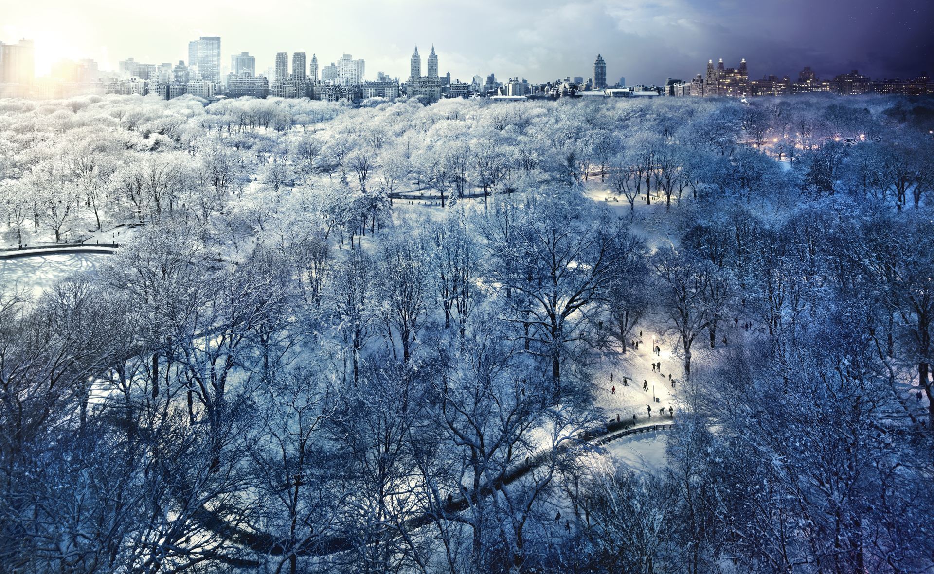 DAY_TO_NIGHT_CENTRAL_PARK_WINTER