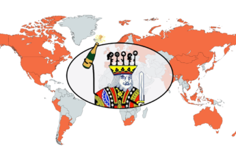 wait but hi logo over a map that shows each country where an event took place