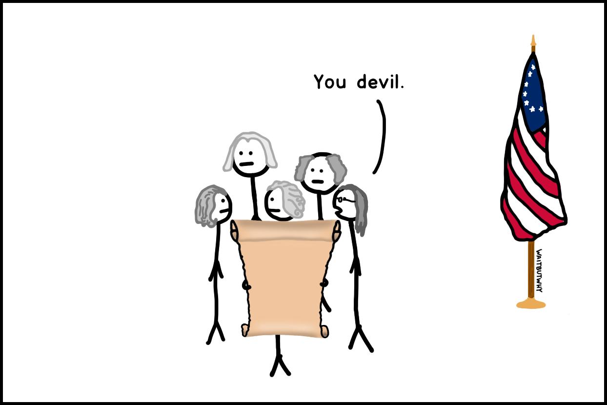 You devil.